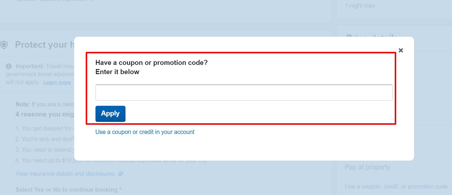 How do I use my CheapTickets coupon code?