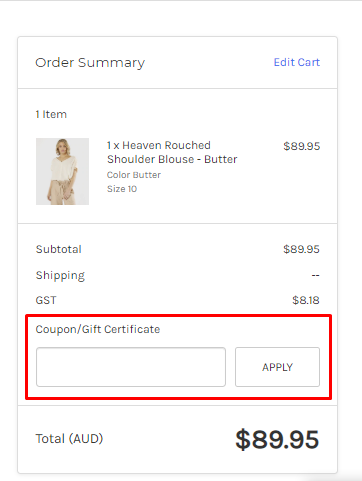 How do I use my Essential Label discount code?