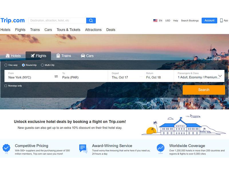 How do I use my Trip.com discount code?