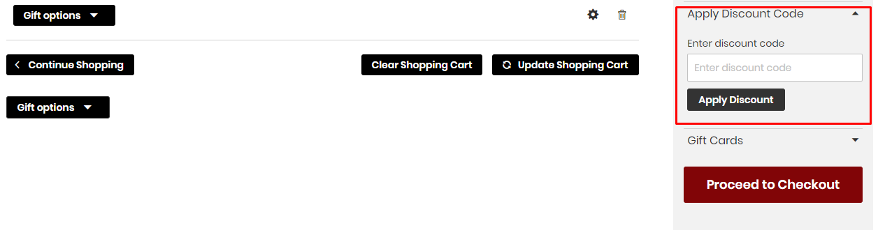 How do I use my Chess Bazaar discount code?