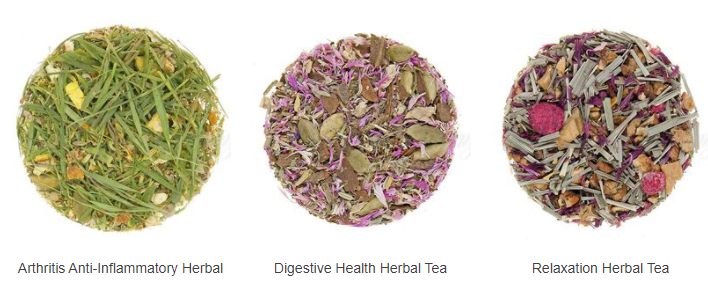 About Culinary Teas Homepage
