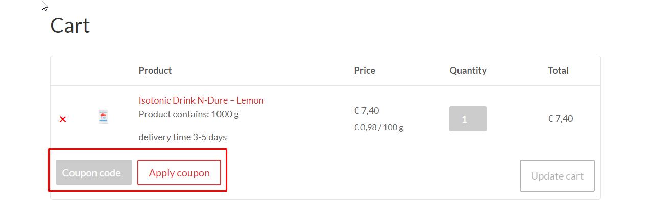How do I use my Baam coupon code?