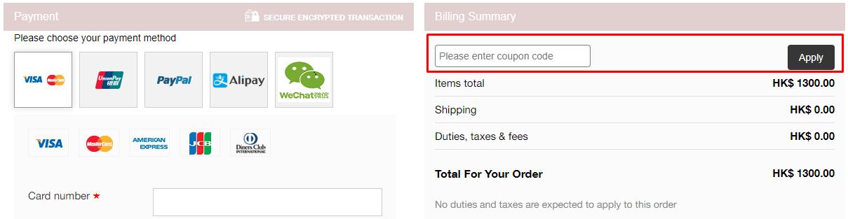 How do I use my Jarlo coupon code?