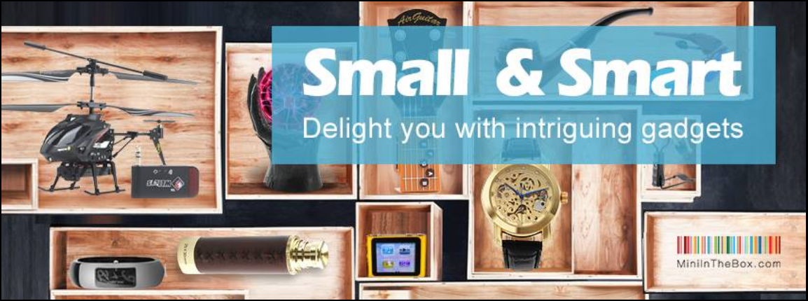 About Mini In The Box Homepage