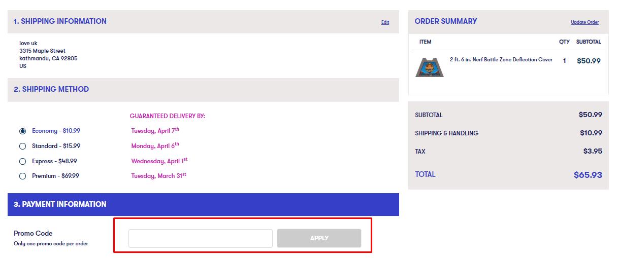 How do I use my Shindigz discount code?