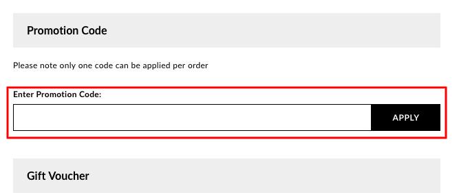 How do I use my boohoo promotion code?