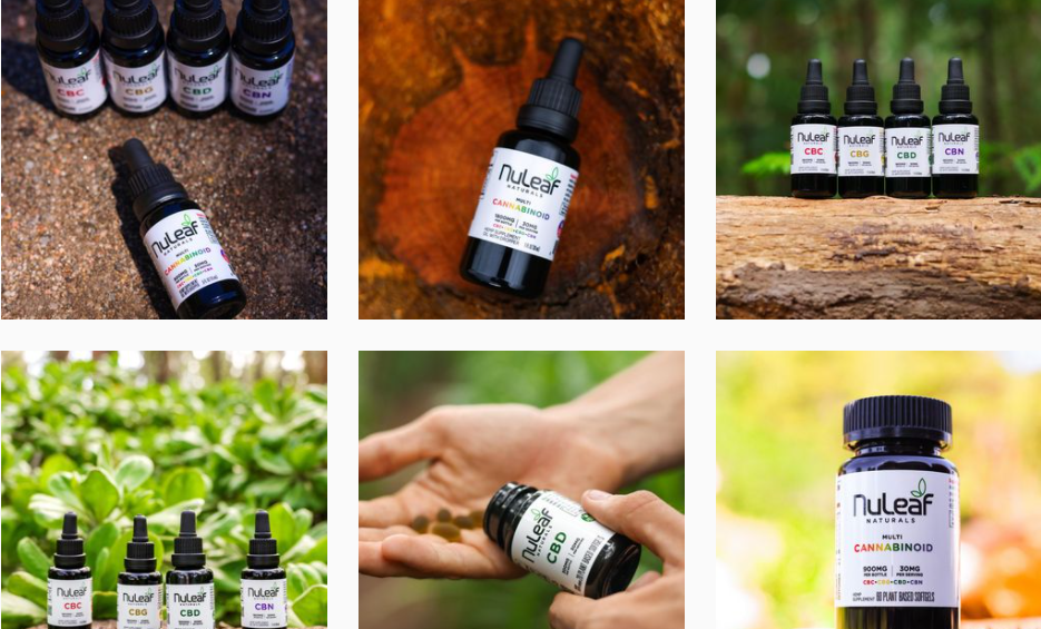 About nuleaf NATURALS Homepage