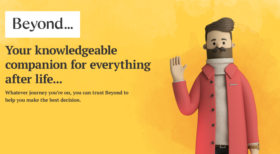About Beyond homepage
