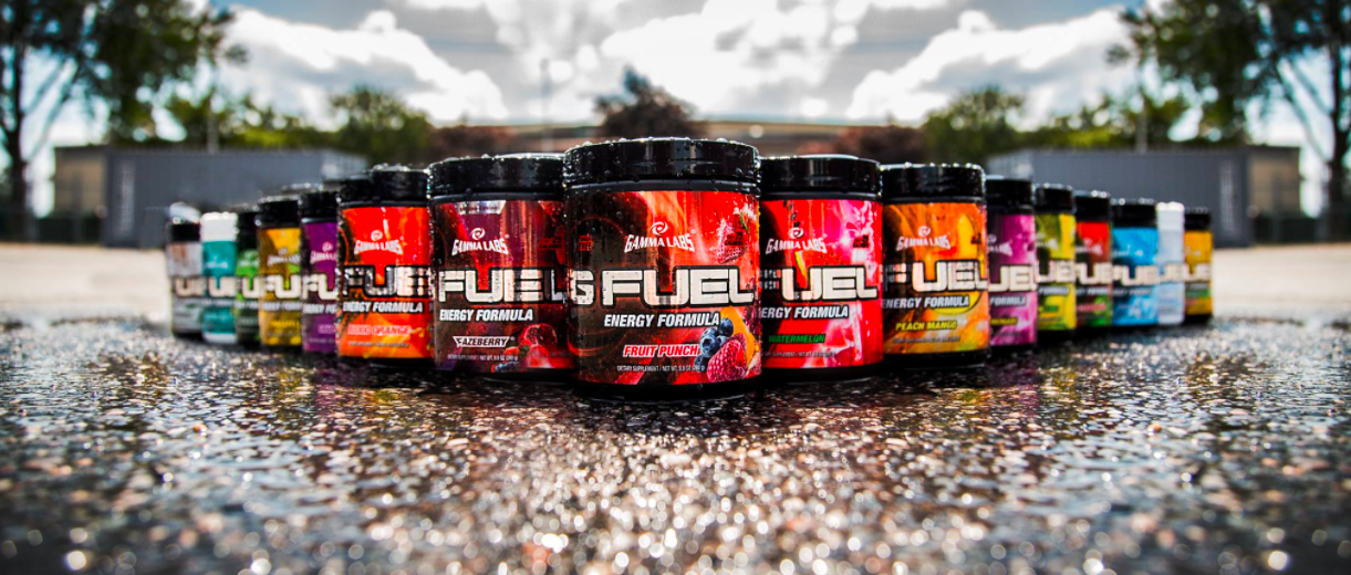 About G Fuel Homepage