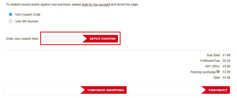 How do I use my Vitalife Health coupon code?
