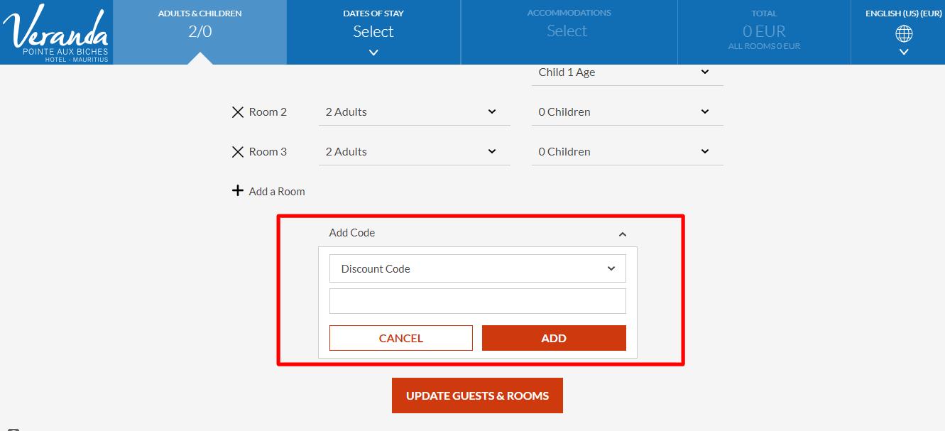 How do I use my Veranda discount code?