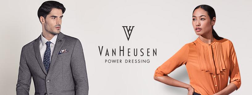 About Van Heusen Homepage