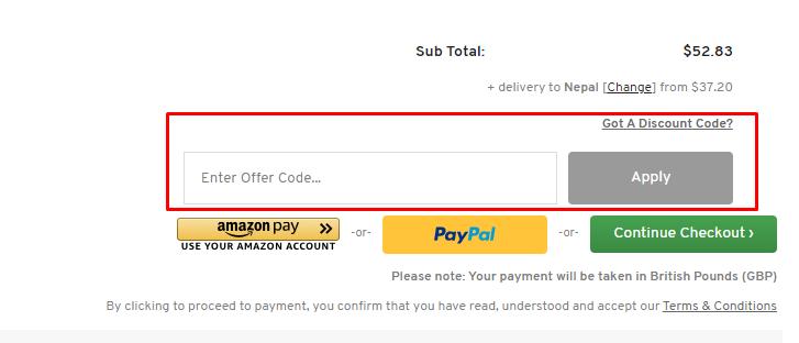 How do I use my CHO discount code?