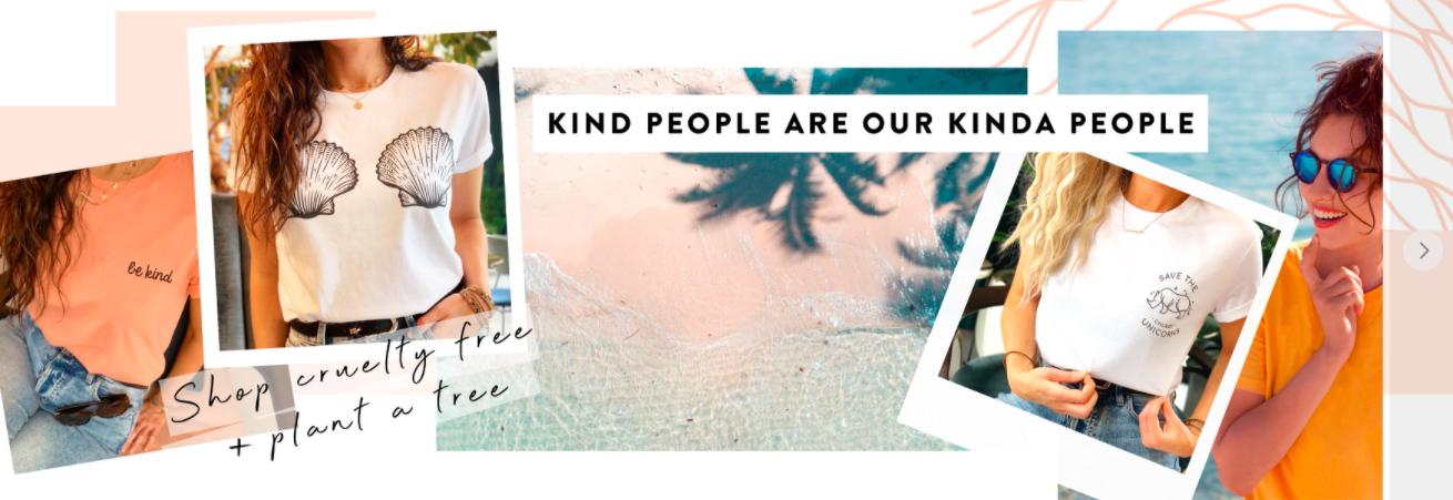 About Kind Clothing Homepage