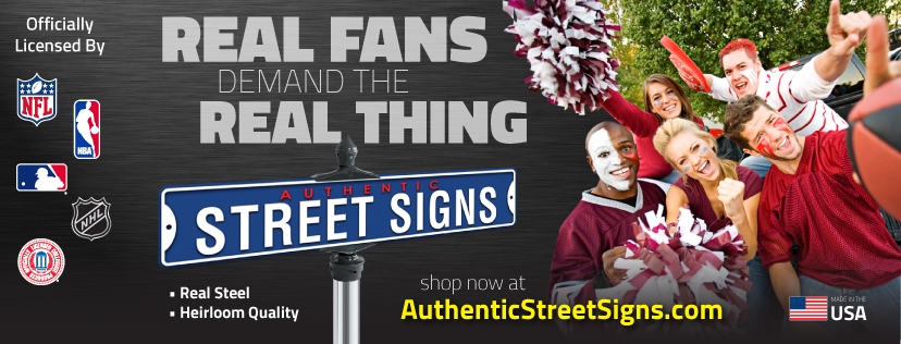 About Authentic Street Signs Homepage