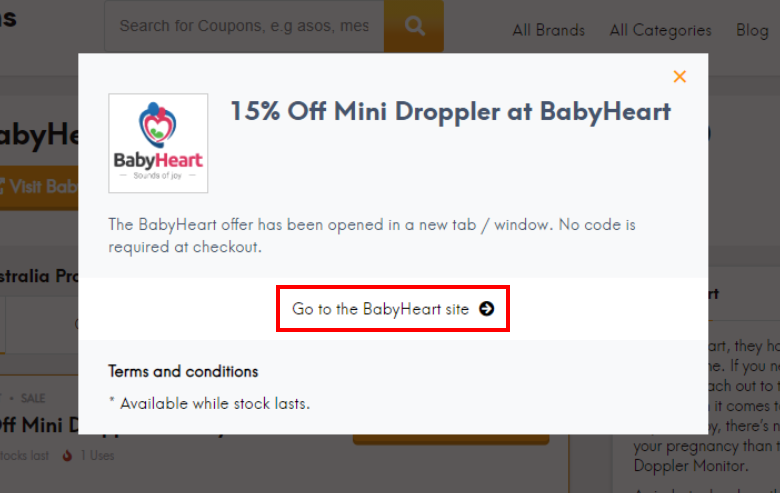 go to BabyHeart site