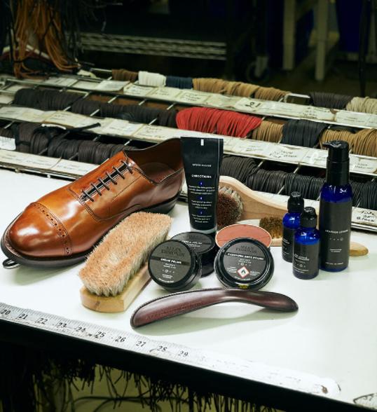 Allen Edmonds shoe care