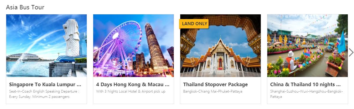 Compass Holidays Asia Tours
