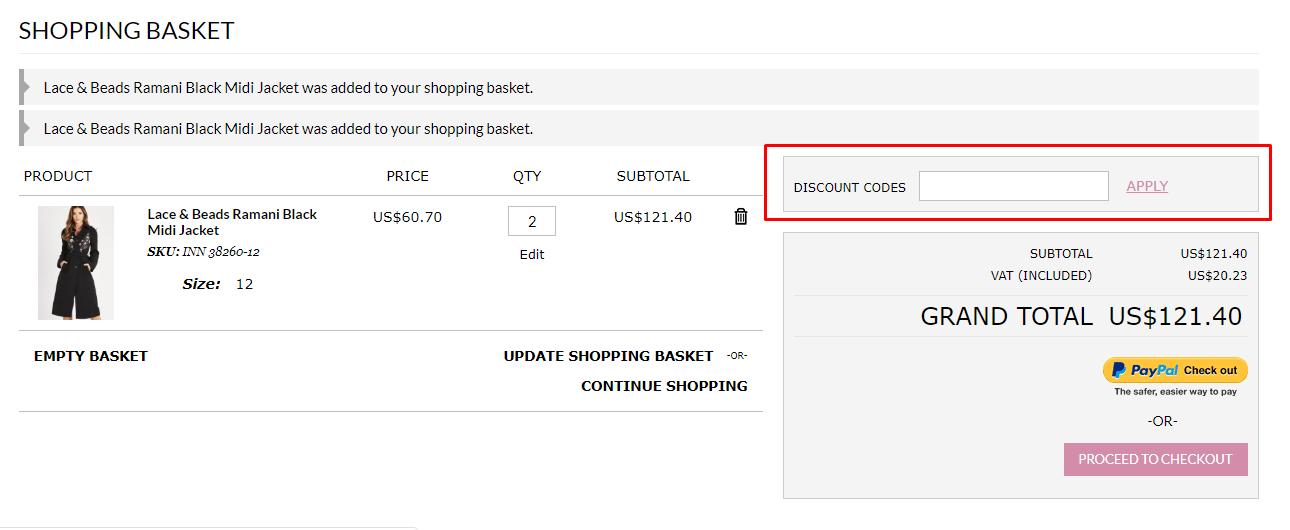 How do I use my TFNC discount code?