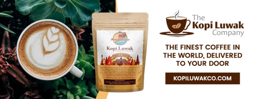 About The Kopi Luwak Company Homepage
