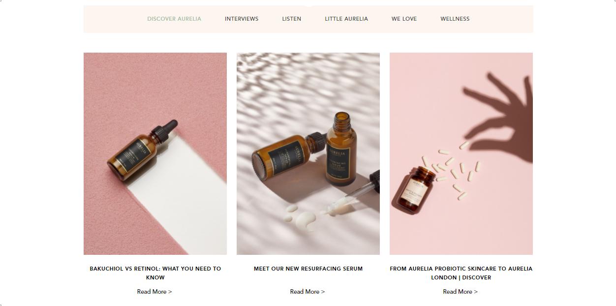 Aurelia Blog