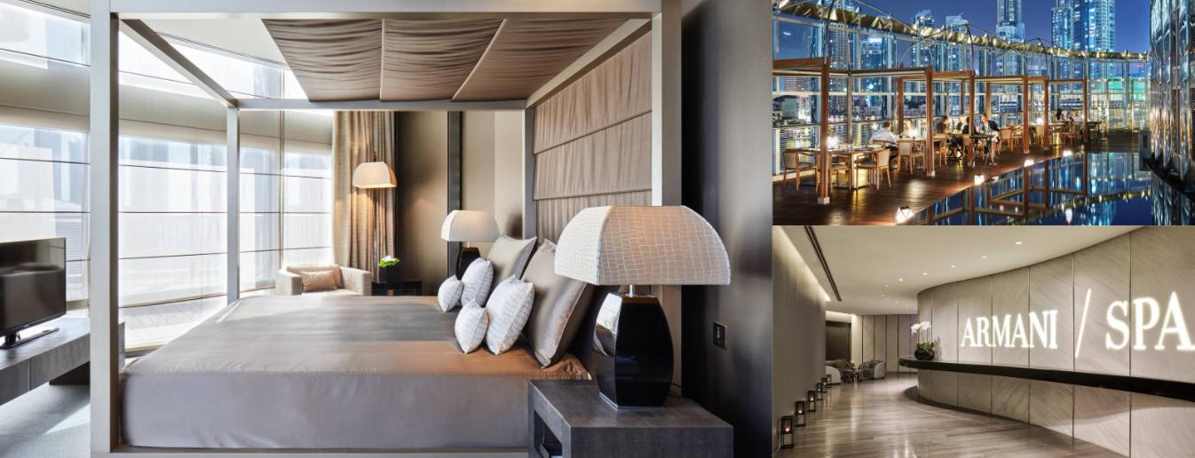 About Armani Hotel Dubai Homepage