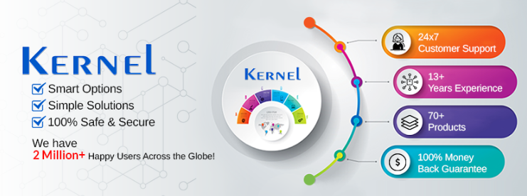 About Kernel Data Recovery homepage