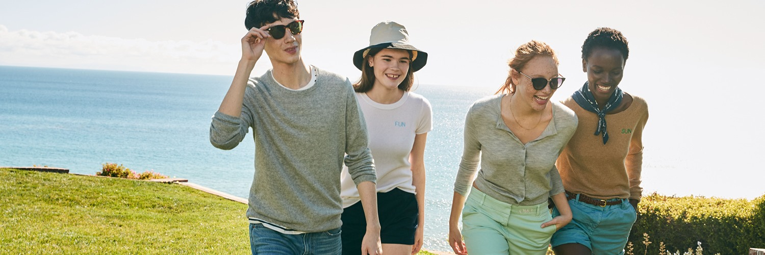 About J.Crew Homepage