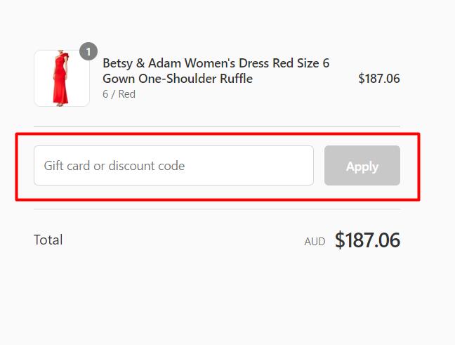 How do I use my Azura Runway discount code?