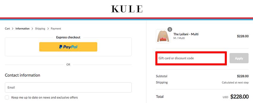 Kule Discount Code