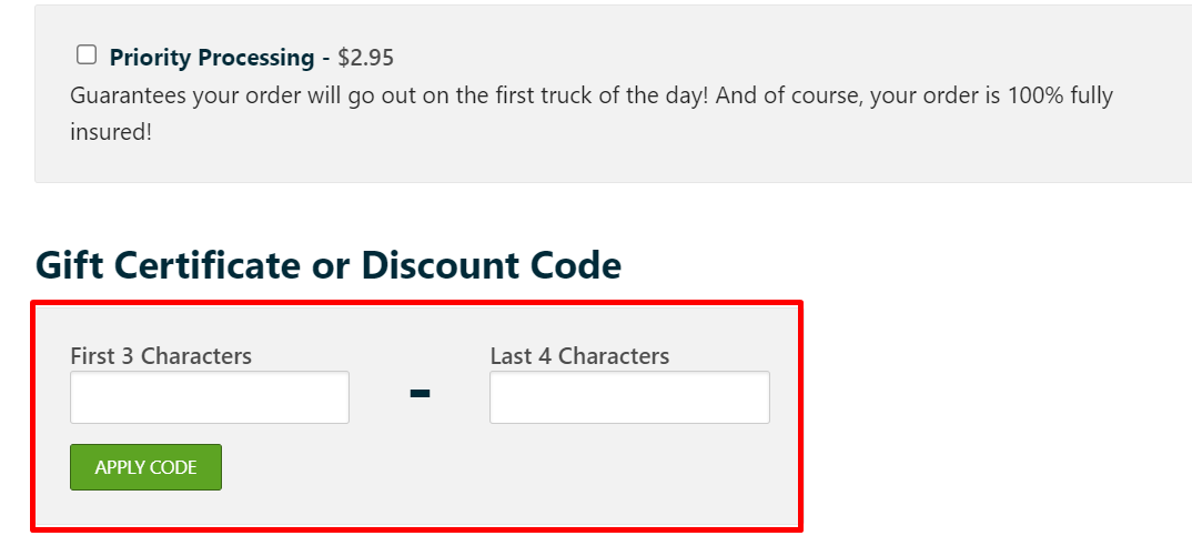 How do I use my Dave and Adam's Card World discount code?