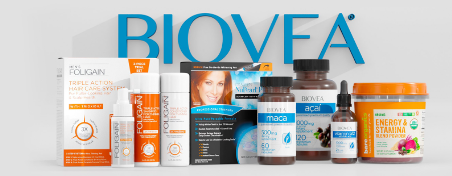 About BIOVEA Homepage