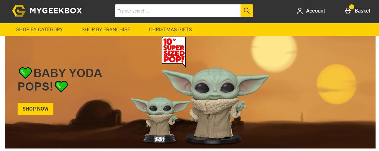 My Geek Box Homepage
