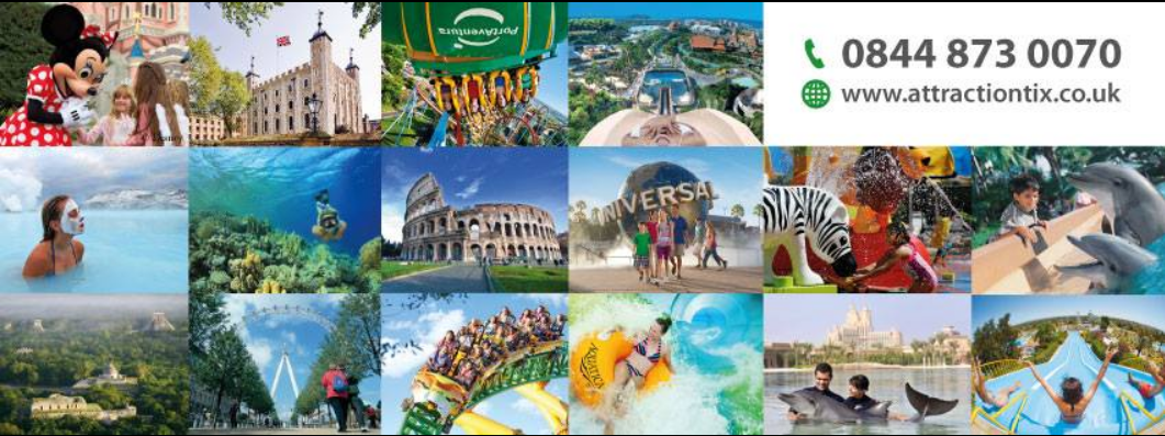 About Attractiontix Homepage