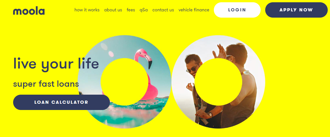 Moola Homepage