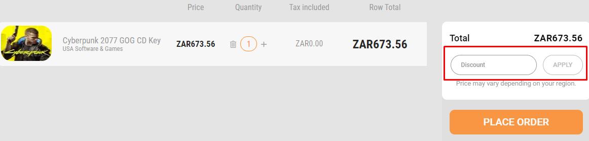 How do I use my Kinguin discount code?