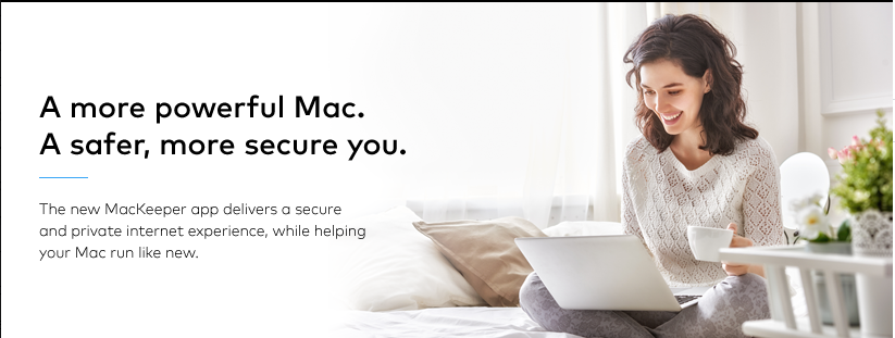 About MacKeeper Homepage