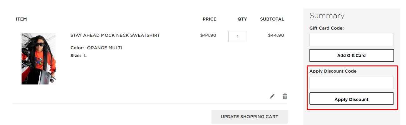 How do I use my Shopakira discount code?