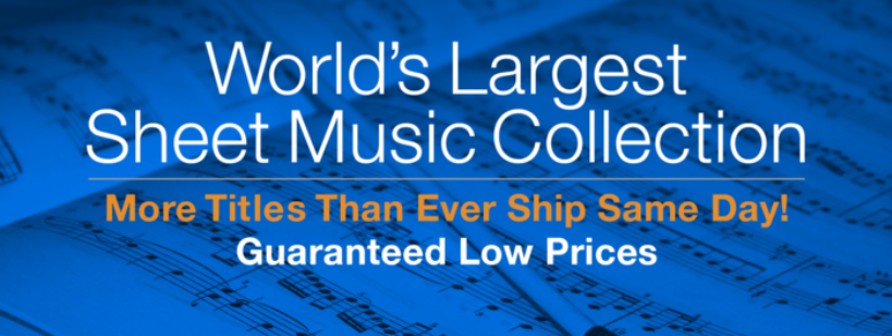 About Sheet Music Plus Homepage