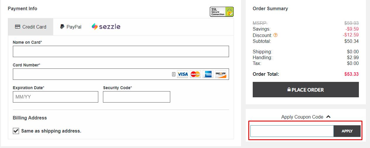 How do I use my Dot & Bo coupon code?
