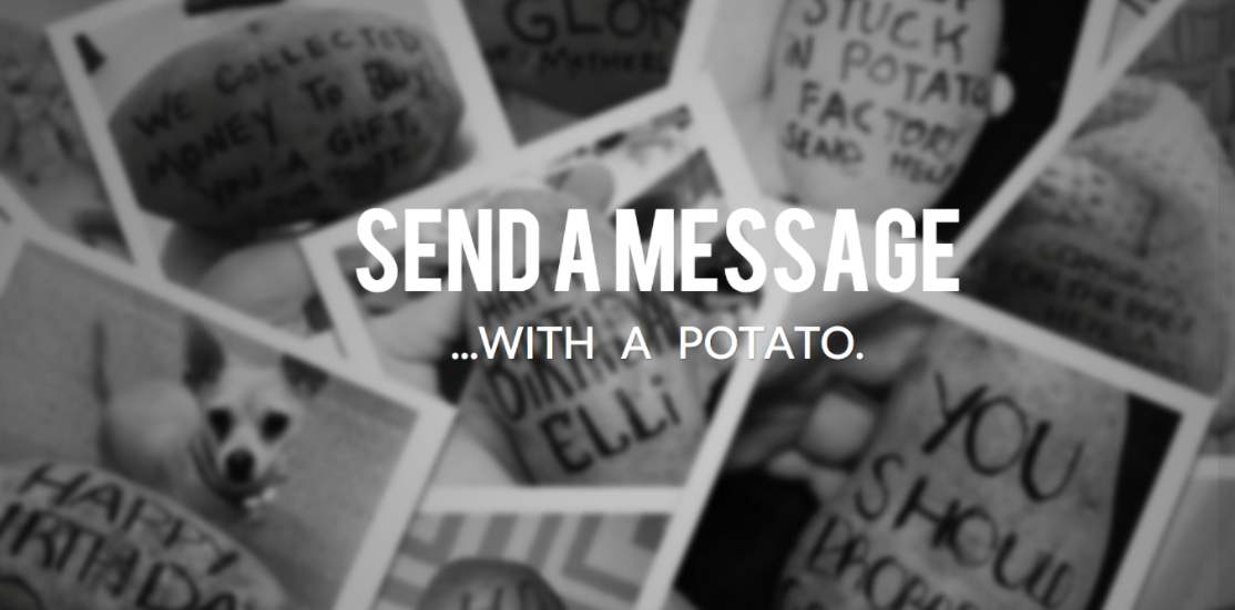 About Potato Parcel Homepage