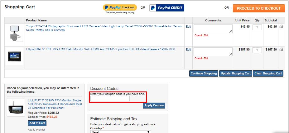 How do I use my Europelilliput coupon code?