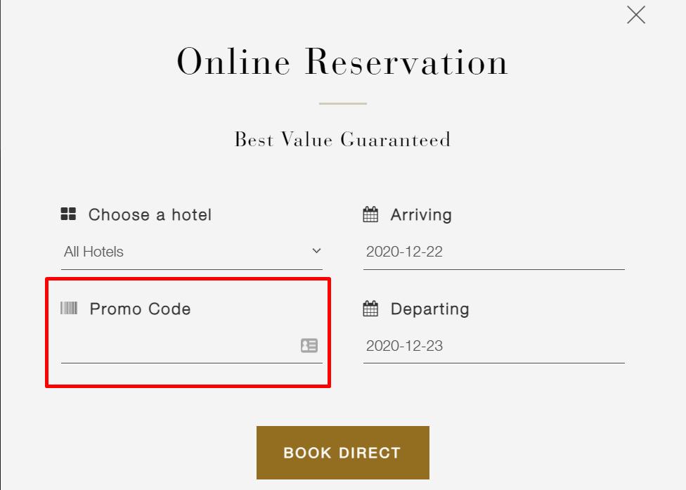 How do I use my Alaya Hotels & Resorts promo code?