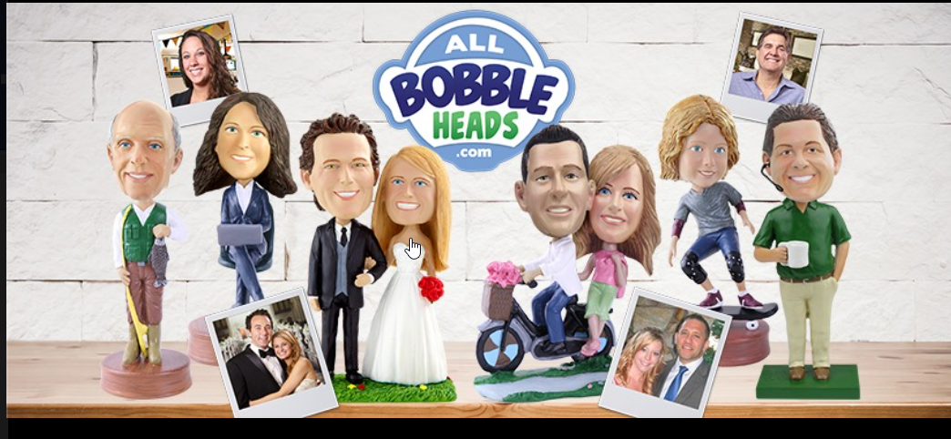 About AllBobbleheads.com Homepage