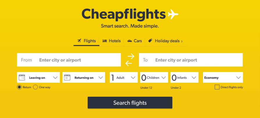 Cheapflights about us