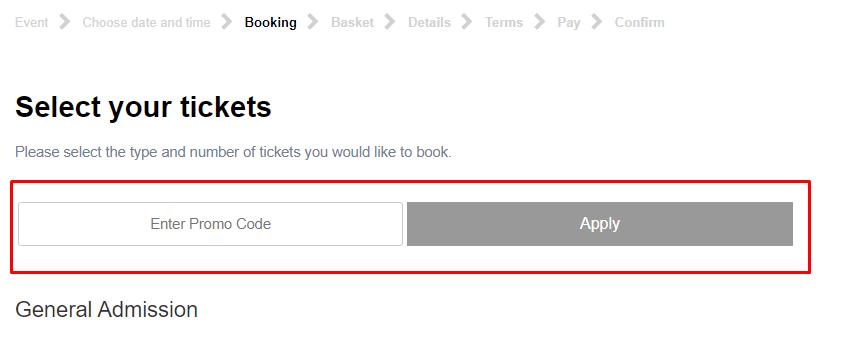 How do I use my British Museum promo code?