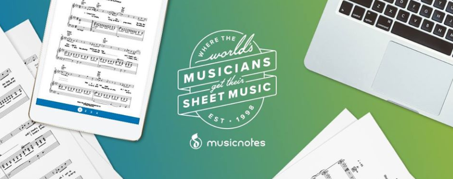 About Musicnotes Homepage