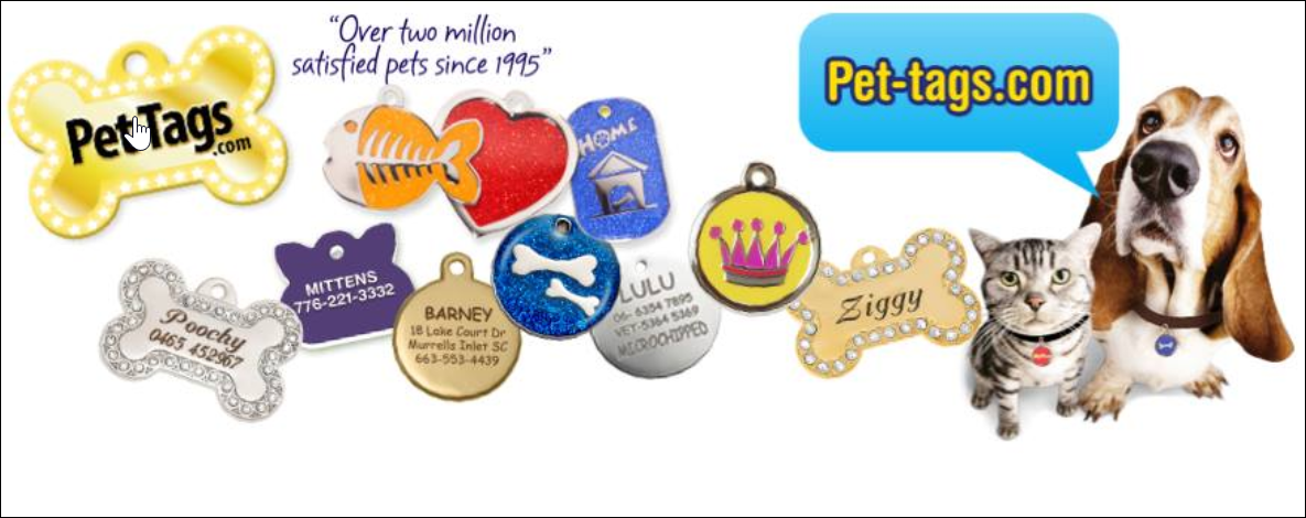 About Pet-Tags Homepage