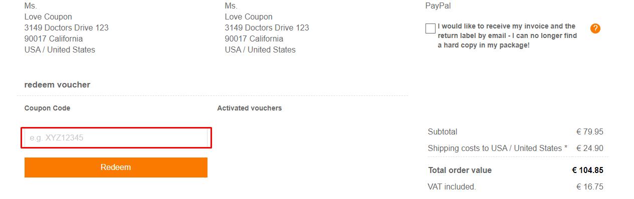 How do I use my Deerberg coupon code?