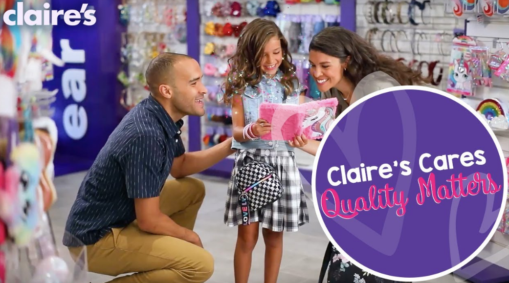 Claire's about us